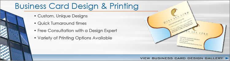 Business Card Design and Layout for Small Businesses seeking Corporate Identity Solutions in Tampa Florida