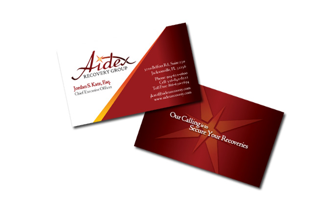 Business Cards Corporate Identity Tampa
